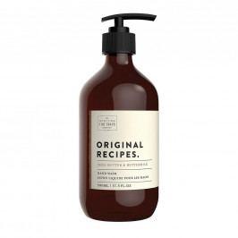 SCOTTISH FINE SOAPS Tekuté mýdlo na ruce Bambucké máslo a podmáslí 500ml, hnědá barva, plast