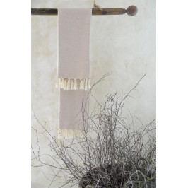 Jeanne d'Arc Living Ručník z recyklované bavlny Cream 50x100 cm, béžová barva, krémová barva, textil