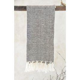 Jeanne d'Arc Living Ručník z recyklované bavlny Brown 50x100 cm, hnědá barva, textil