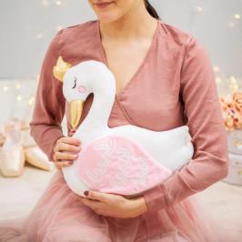 sass & belle Dětský polštářek Freya Swan, multi barva, textil