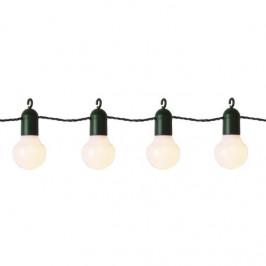 STAR TRADING Světelný řetěz 20 LED White Bulbs, bílá barva, plast