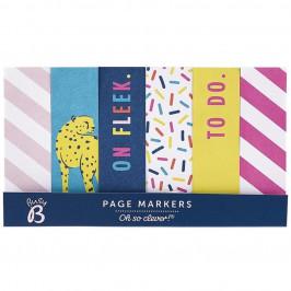 Busy B Samolepící štítky Colorful Page Markers, multi barva, papír