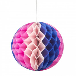 rice Papírová dekorační koule Honeycomb, multi barva, papír