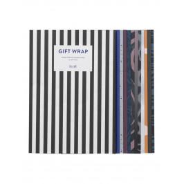 ferm LIVING Sada balících papírů Gift Wrapping Book 11 archů, multi barva, papír