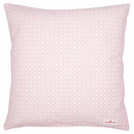 GREEN GATE Bavlněný povlak na polštář Helle Pale Pink 40x40, růžová barva, bílá barva, textil