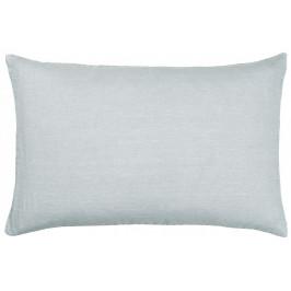 IB LAURSEN Lněný povlak na polštář Light Blue 60x40cm, modrá barva, textil