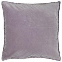 IB LAURSEN Sametový povlak na polštář Lavender 50x50, fialová barva, textil