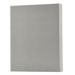 MONOGRAPH Kroužkový pořadač Light grey, šedá barva, papír