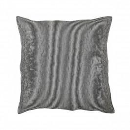 Krasilnikoff Prošívaný povlak na polštář Charcoal 50x50cm, šedá barva, textil