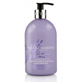 Baylis & Harding Tekuté mýdlo English Lavender & Chamomile 500ml, fialová barva, plast