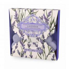 Somerset Toiletry Šumivé květiny do koupele - Lavender 4x40g, fialová barva