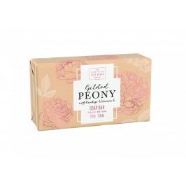 SCOTTISH FINE SOAPS Luxusní tuhé mýdlo Gilded Peony 220g, oranžová barva