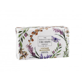 SCOTTISH FINE SOAPS Jemné mýdlo Vintage Blooms 220g, multi barva
