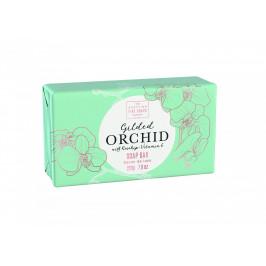 SCOTTISH FINE SOAPS Luxusní tuhé mýdlo Gilded Orchid 220g, zelená barva