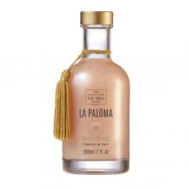 SCOTTISH FINE SOAPS Koupelová perleťová esence La Paloma 200ml, růžová barva, sklo