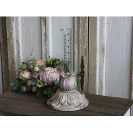 Zahradní srážkomer Antique, béžová barva, sklo
