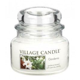 Svíčka ve skle Gardenia - malá, čirá barva, sklo