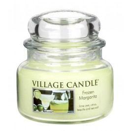 Svíčka ve skle Frozen margarita - malá, zelená barva, sklo