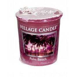 Votivní svíčka Village Candle - Palm Beach, růžová barva