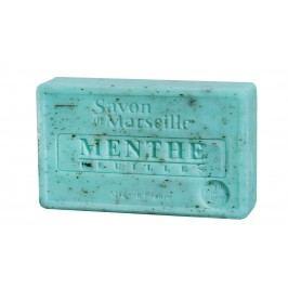 Francouzské mýdlo s vůní máty Menthe 100gr, zelená barva