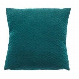 Polštář Dark green 50x50, zelená barva, textil