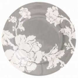 Dezertní talíř Ingrid sand, šedá barva, porcelán