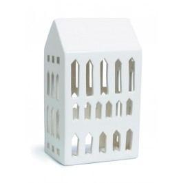Lucerna domeček Urbania Light house 18 cm, krémová barva, keramika