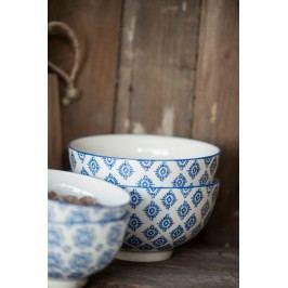 Miska Casablanca blue, modrá barva, keramika