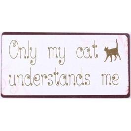 Only cat, bílá barva, kov