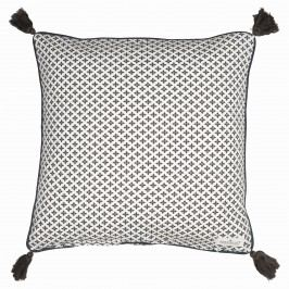 Povlak na polštář Sasha dark grey 50x50 cm, šedá barva, textil