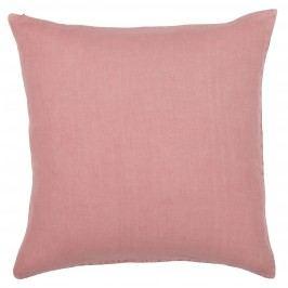 Lněný povlak na polštář Sorbet 50x50 cm, růžová barva, textil