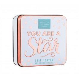 Mýdlo v plechové krabičce You are, bílá barva, kov