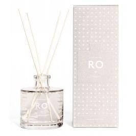 Vonný difuzér RO (klid) 200 ml, šedá barva, bílá barva, sklo