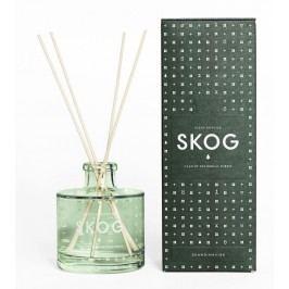 Vonný difuzér SKOG (les) 200 ml, zelená barva, sklo