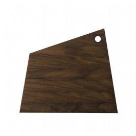 Dřevěné prkénko Asymmetric Oak L, hnědá barva, přírodní barva, dřevo