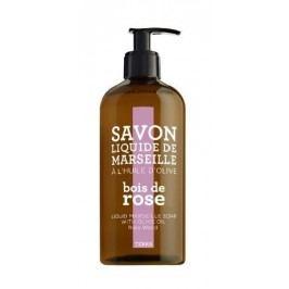 Tekuté mýdlo Rosewood 500 ml, růžová barva, hnědá barva, plast