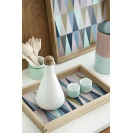 Servírovací tác Colour, multi barva, dřevo