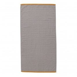 Ručník Sento Grey 50x100 cm, šedá barva, textil