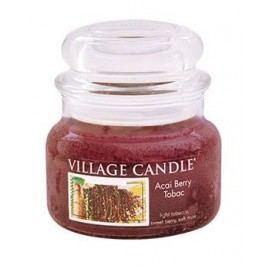 Svíčka ve skle Acai Berry Tabac - malá, hnědá barva, sklo