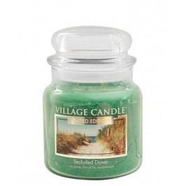 Svíčka ve skle Secluded Dunes - střední, zelená barva, sklo