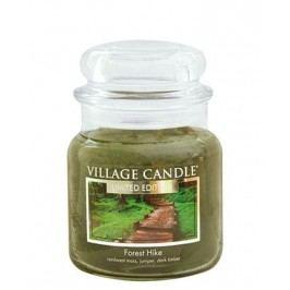 Svíčka ve skle Forest Hike - střední, zelená barva, sklo