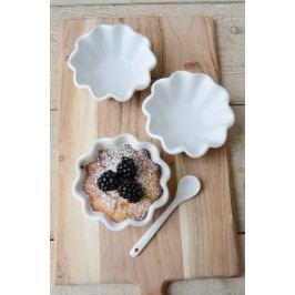 Keramická forma na muffiny Mynte white, bílá barva, keramika