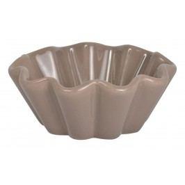 Keramická forma na muffiny Mynte milky brown, hnědá barva, keramika