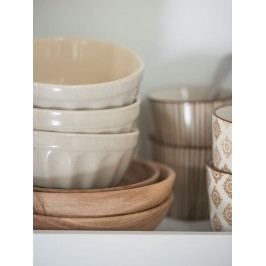 Miska na müsli Mynte latte, béžová barva, keramika