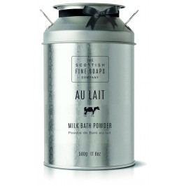 Sypký koupelový prášek AU LAIT, šedá barva