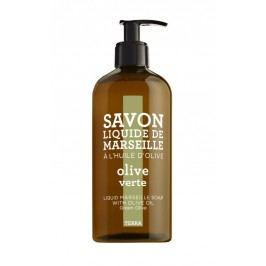 Tekuté mýdlo Olivy 500 ml, hnědá barva, plast
