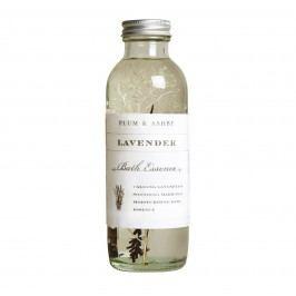 Koupelová esence Lavender, čirá barva, sklo