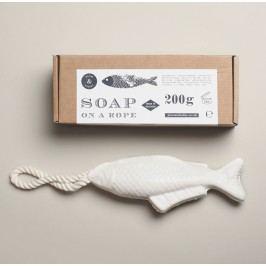 Mýdlo na provázku Fish, bílá barva