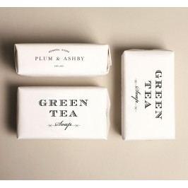 Mýdlo Green Tea 200gr, bílá barva