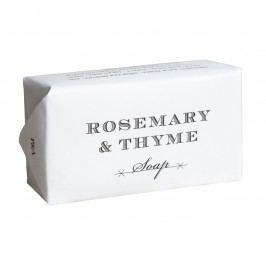 Exfoliační mýdlo Rosemary & Thyme 200gr, bílá barva